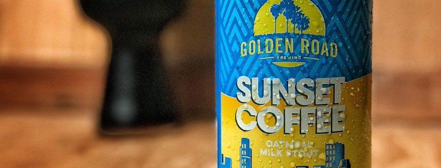 Golden Road Sunset Coffee Stout is a delicous Oatmeal Milk Stout with coffee added.